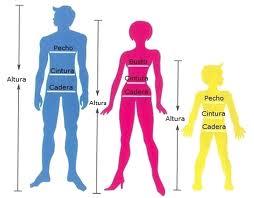 Guia de equivalencia de tallas en Camisas y Camisetas hombre para Colombia