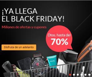 Fin de semana de Black Friday y Cyber Monday en AliExpress