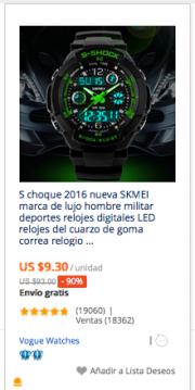 comprar reloj deportivo en aliexpress colombia