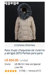 614b10c48da69 Tiendas Confiables para comprar abrigos. Aquí hemos elegido 2 tiendas las  cuales ...