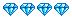 4 diamantes