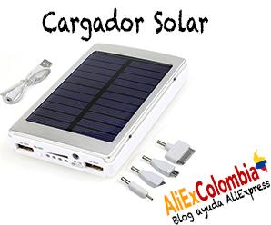 Comprar cargador solar en AliExpress