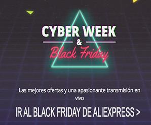 Ya Comenzó! Cyber Week & Black Friday en AliExpress, todo lo que debes saber