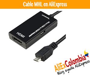 Comprar cable MHL en AliExpress desde Colombia