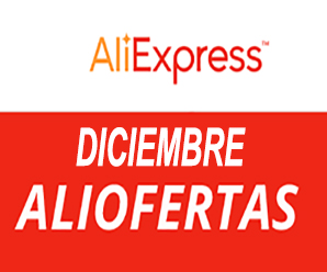 Diciembre, descuentos de fin de año en AliExpress