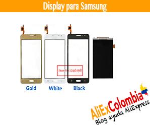 Comprar display para celular Samsung en AliExpress