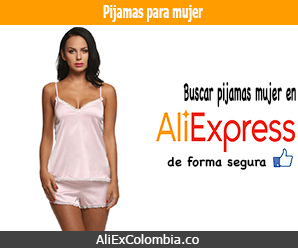Comprar pijama para mujer en AliExpress