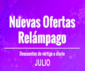 Julio: Continúan las ofertas relámpago en AliExpress