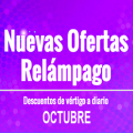 Ofertas Relámpago de Octubre en AliExpress