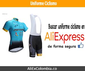 Comprar uniforme de ciclismo en AliExpress