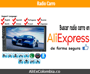 Comprar radio para carro en AliExpress