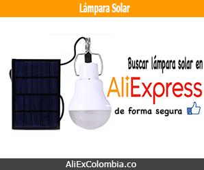 Comprar lámpara solar en AliExpress