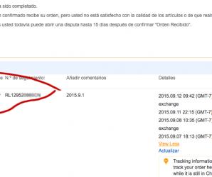 Como hacer seguimiento a paquetes comprados en AliExpress desde Colombia