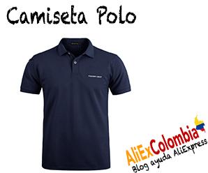 Comprar camiseta polo para hombre en AliExpress