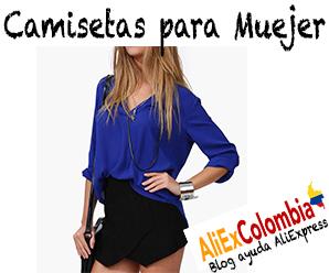 Comprar camisetas para mujer en AliExpress