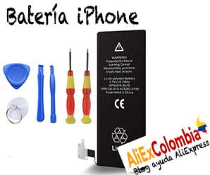 Comprar batería para iPhone en AliExpress