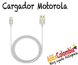 Comprar cargador para celular Motorola en AliExpress