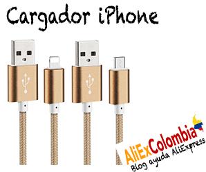 Comprar cargador para iPhone en AliExpress
