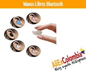 Comprar manos libres Bluetooth en AliExpress