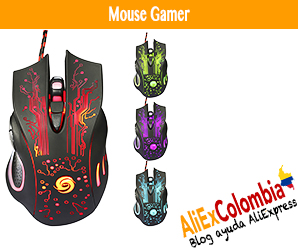 Comprar mouse gamer en AliExpress