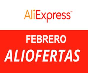 Febrero con descuentos hasta un 60% en AliExpress