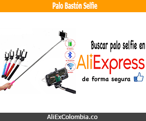 Comprar palo bastón para selfie en AliExpress