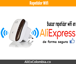Comprar repetidor WiFi en AliExpress