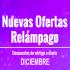 Diciembre: Continuan las ofertas relámpago en AliExpress