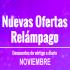 Noviembre con ofertas relámpago en AliExpress