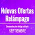 Ofertas Relámpago de Septiembre en AliExpress Colombia