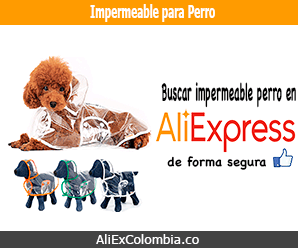 Comprar impermeable para perro en AliExpress