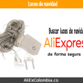 Buscar y comprar luces de navidad en AliExpress desde Colombia