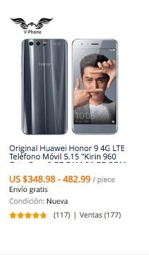 comprar celular huawei en china