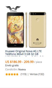 comprar celular huawei en aliexpress