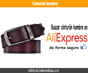 Comprar correa cinturón para hombre en AliExpress
