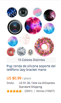 comprar popsockets en china