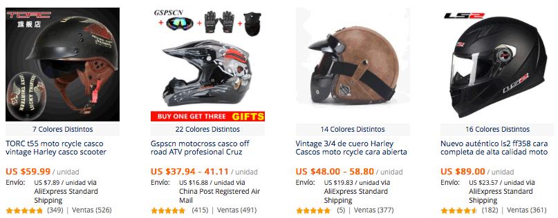 7591374d09e Casco para moto más vendidos en AliExpress