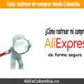 Consejos para rastrear tu compra en AliExpress desde Colombia