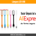 Comprar lámpara led USB en AliExpress