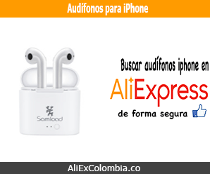 Comprar audífonos para iPhone en AliExpress