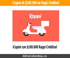 ¡Recibe bono de $100.000 al registrarte en Rappi Colombia!