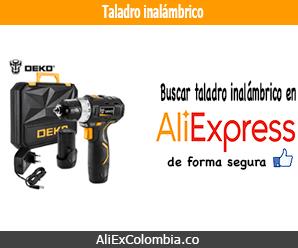 Comprar taladro inalámbrico en AliExpress