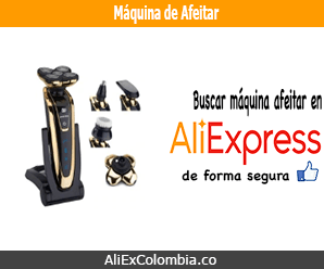 Comprar maquina de afeitar en AliExpress desde Colombia