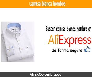 Comprar camisa blanca para hombre en AliExpress