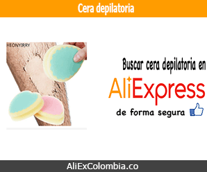 Comprar cera depilatoria en AliExpress Colombia
