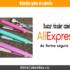 Pinza rizador de cabello en AliExpress