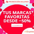 Especial descuentos mitad de año en AliExpress