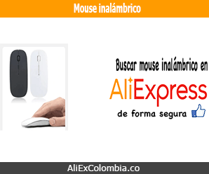 Comprar mouse inalámbrico en AliExpress