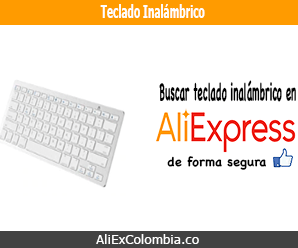 Comprar teclado inalámbrico en AliExpress desde Colombia