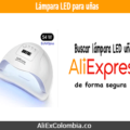 Comprar lámpara LED para uñas en AliExpress